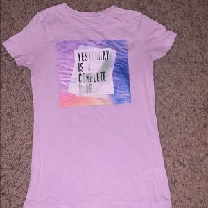 This is a light purple shirt from Aeropostale